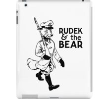 Rudek and the Bear iPad Case/Skin