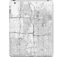 Salt Lake City Map Line iPad Case/Skin