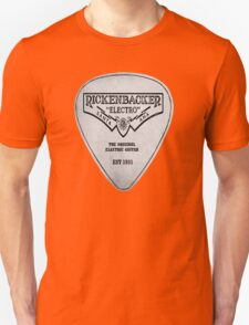 rickenbacker pick plectrum Unisex T-Shirt
