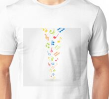 Abstract music2 Unisex T-Shirt