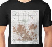 USGS TOPO Map Arizona AZ Chandler Heights 310817 1956 24000 Unisex T-Shirt