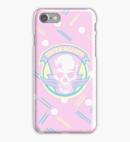 Metal Gear Solid Outer Heaven iPhone Case/Skin