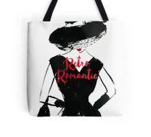 Retro Romantic Tote Bag