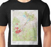 USGS TOPO Map Arizona AZ Prescott 312985 1973 24000 Unisex T-Shirt