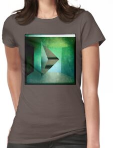 Ugly Green Diamond Thing Womens Fitted T-Shirt