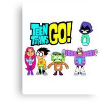 Teen Titans Go! Christmas Canvas Print