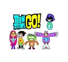 Teen Titans Go! Christmas Photographic Print
