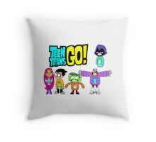 Teen Titans Go! Christmas Throw Pillow