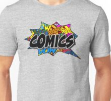 -COMICS- Comics Bubble Unisex T-Shirt