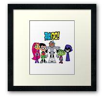 Teen Titans Go! Framed Print