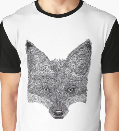 Fox Graphic T-Shirt