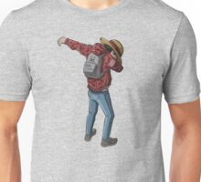 -DAB- Luffy Back Unisex T-Shirt