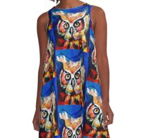 Owl A-Line Dress