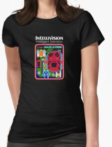 Maze-A-Tron Womens Fitted T-Shirt