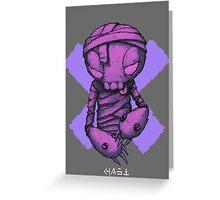 Midnight Tiptoe Greeting Card