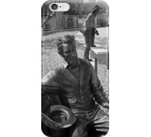 Bronze Abe iPhone Case/Skin