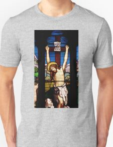Stain Glass Unisex T-Shirt