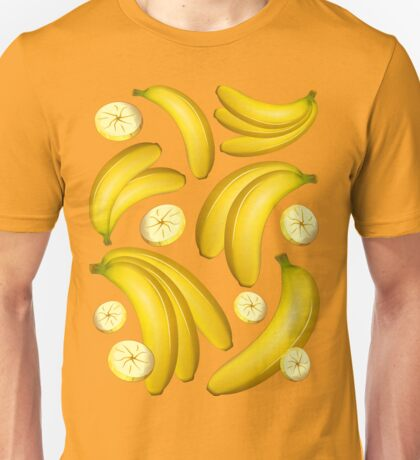Banana Fruity Pattern  Unisex T-Shirt