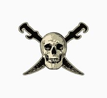 Pirate Skull with Swords Unisex T-Shirt
