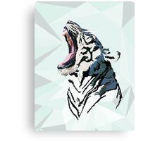 Shattered Tiger: Shout! Canvas Print