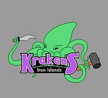 Iron Islands Krakens by enfeder