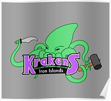 Iron Islands Krakens Poster
