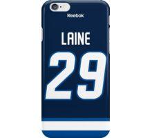 Winnipeg Jets Patrik Laine Jersey Back Phone Case iPhone Case/Skin