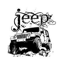 Jeep Shirt Photographic Print