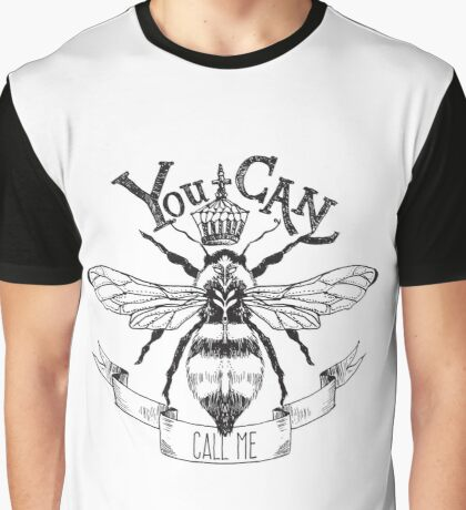 Queen Bee Graphic T-Shirt