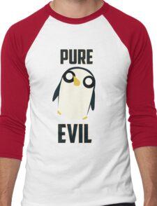 Evil is cute Men's Baseball ¾ T-Shirt