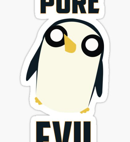 Evil is cute Sticker