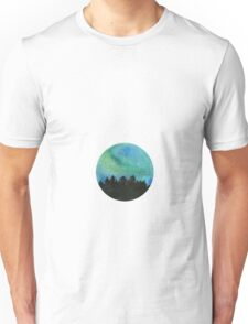 The northern lights watercolor Unisex T-Shirt