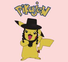 Pikachu - Pikajew , Pokemon Kids Clothes