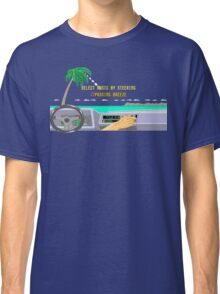 OUT RUN RADIO Classic T-Shirt