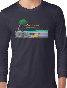 OUT RUN RADIO Long Sleeve T-Shirt