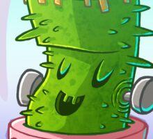 Frankenstein's cactus Sticker