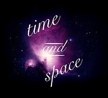 Time and Space - Galaxy Background by strangeducks