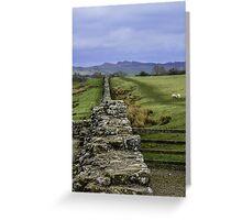 Hadrian's Wall Greeting Card