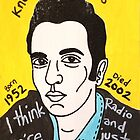 Joe Strummer Punk Folk Art by krusefolkart