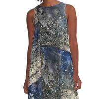 Water Sky A-Line Dress