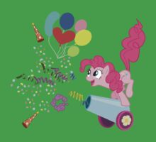Pinkie Pie Cannon! One Piece - Short Sleeve
