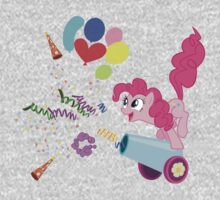 Pinkie Pie Cannon! One Piece - Long Sleeve