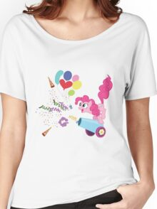 Pinkie Pie Cannon! Women's Relaxed Fit T-Shirt