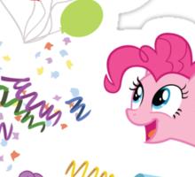 Pinkie Pie Cannon! Sticker