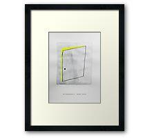 Classic Literature Cover: Metamorphosis - Franz Kafka Framed Print