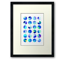 Blueberry Pies Framed Print