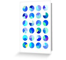 Blueberry Pies Greeting Card