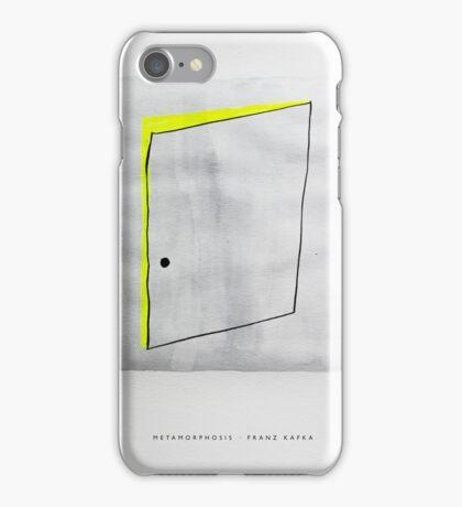 Classic Literature Cover: Metamorphosis - Franz Kafka iPhone Case/Skin