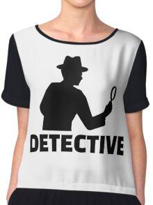 Detective Chiffon Top