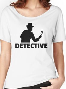 Detective Women's Relaxed Fit T-Shirt